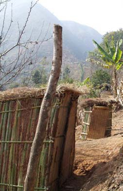 Ecosan toilets. Photo: WHO, Nepal